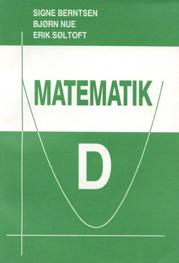 Image of   Matematik D - Bjørn Nue - Bog