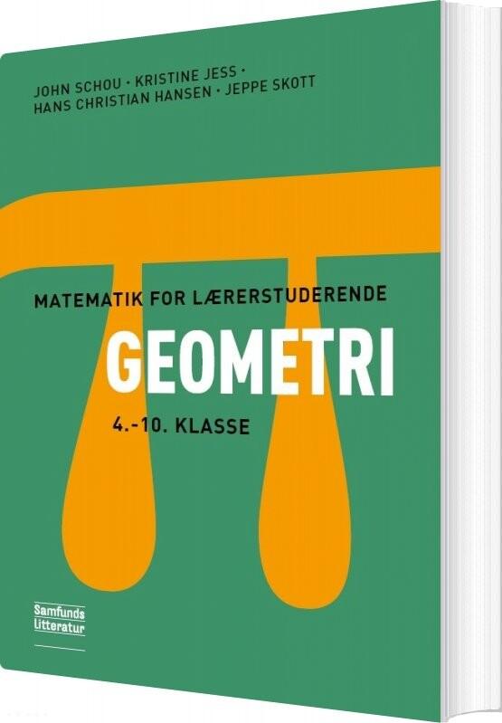 Image of   Matematik For Lærerstuderende - Geometri - Kristine Jess - Bog