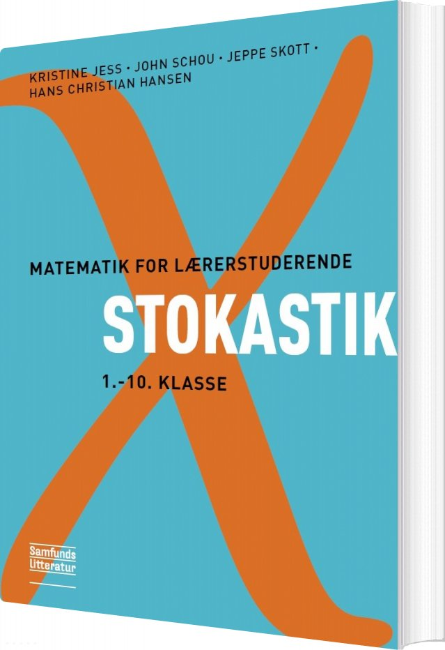 Image of   Matematik For Lærerstuderende - Stokastik - Kristine Jess - Bog