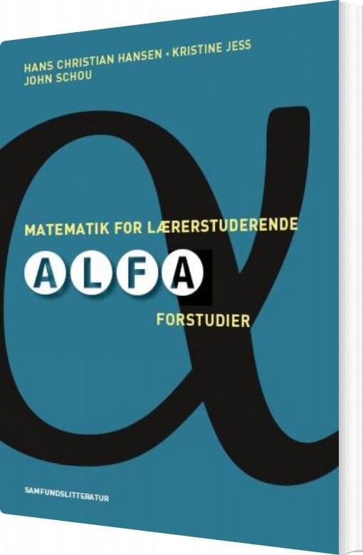 Image of   Matematik For Lærerstuderende - Kristine Jess - Bog