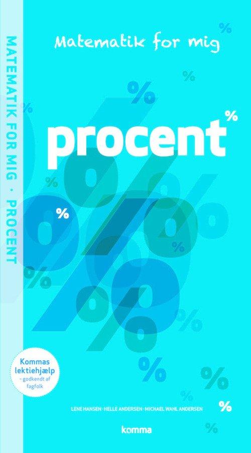 Image of   Matematik For Mig Opgavebog: Procent - Helle Andersen - Bog