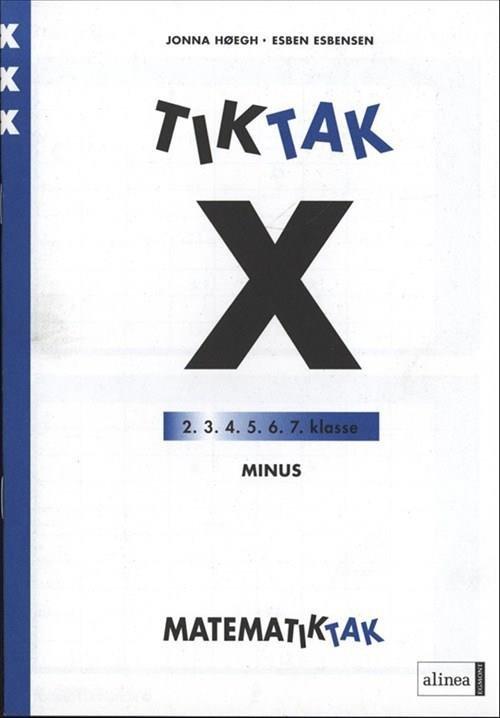 Matematik-tak 3. Kl. X-serien, Minus - Jonna Høegh - Bog