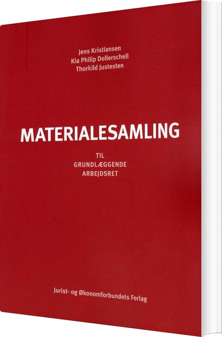 Image of   Materialesamling - Jens Kristiansen - Bog