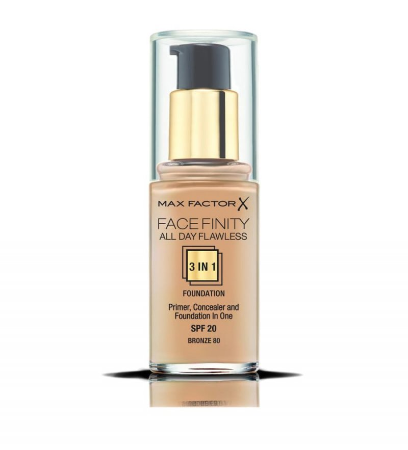Image of   Foundation Max Factor - All Day Flawless 3in1 - Bronze