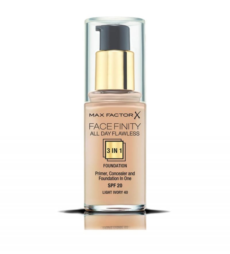 Image of   Foundation Max Factor - All Day Flawless 3in1 - Ivory