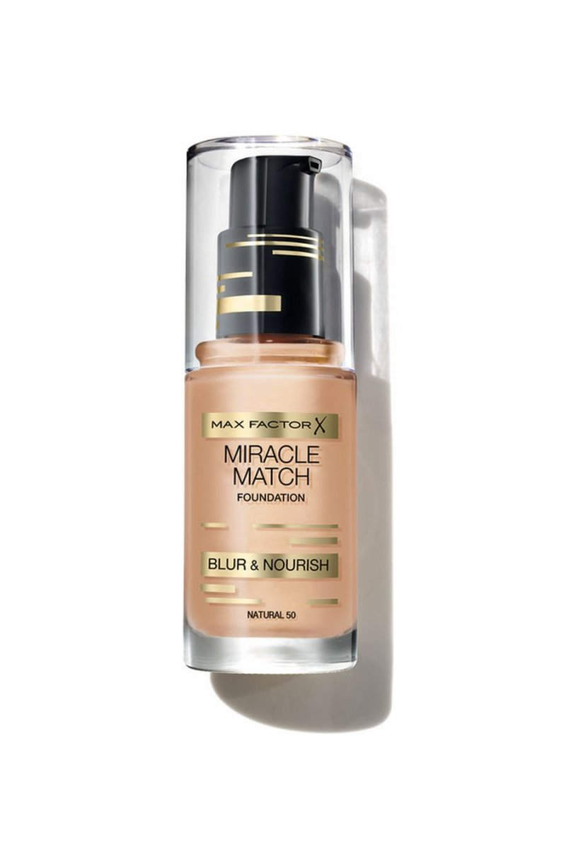 Image of   Foundation - Max Factor Miracle Match Foundation - Natural