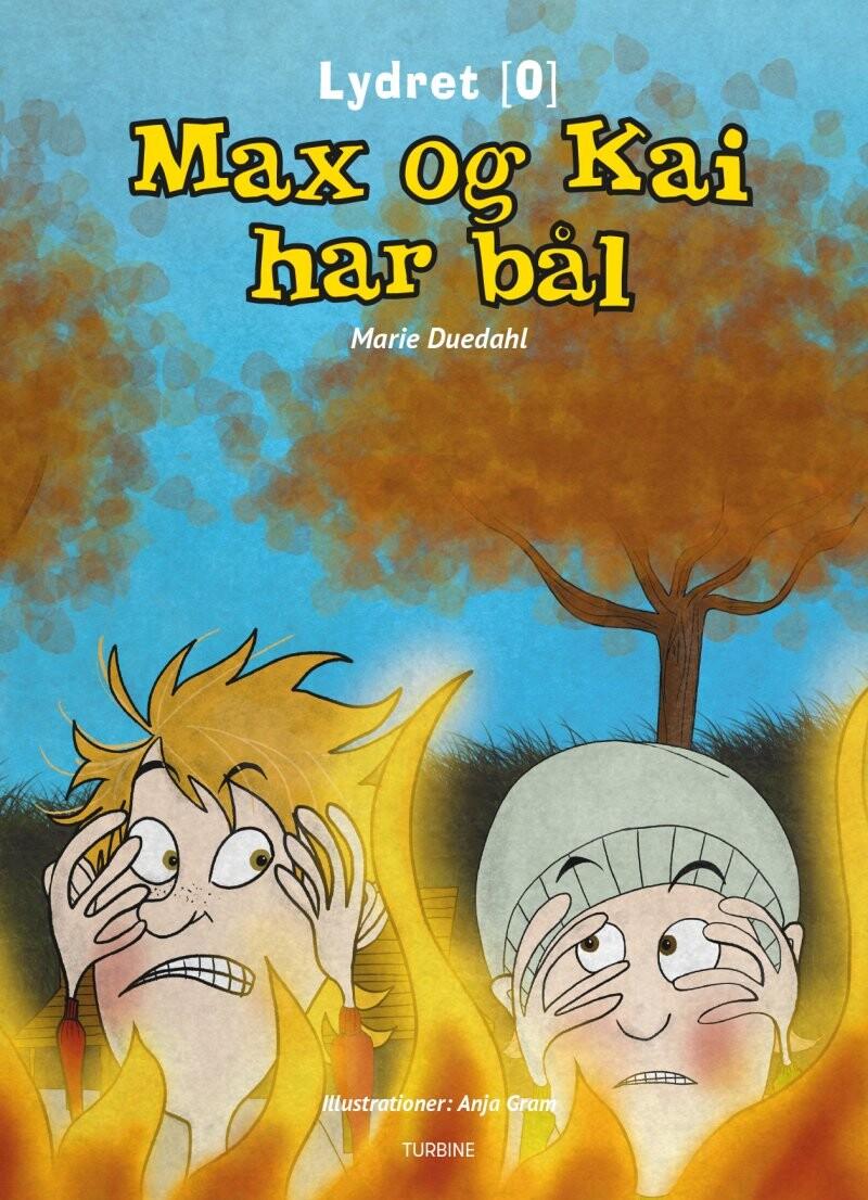 Max Og Kai Har Bål - Marie Duedahl - Bog