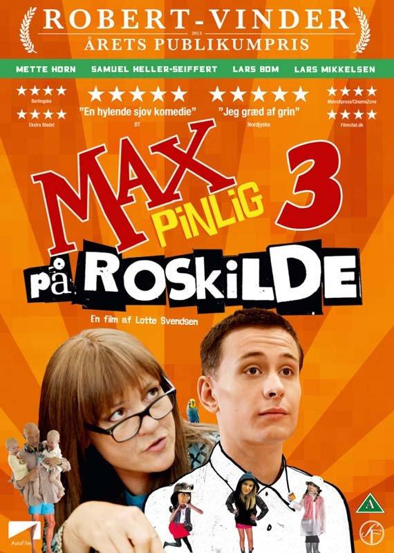 Billede af Max Pinlig 3: På Roskilde - DVD - Film
