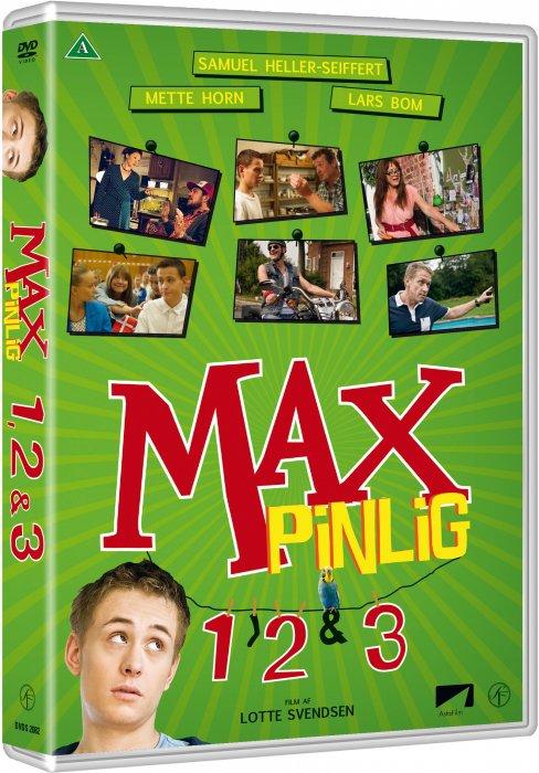 Billede af Max Pinlig // Max Pinlig 2: Sidste Skrig // Max Pinlig 3: På Roskilde - DVD - Film