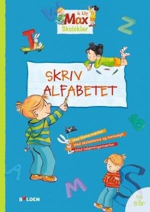 Image of   Max Skoleklar - Skriv Alfabetet - Diverse - Bog