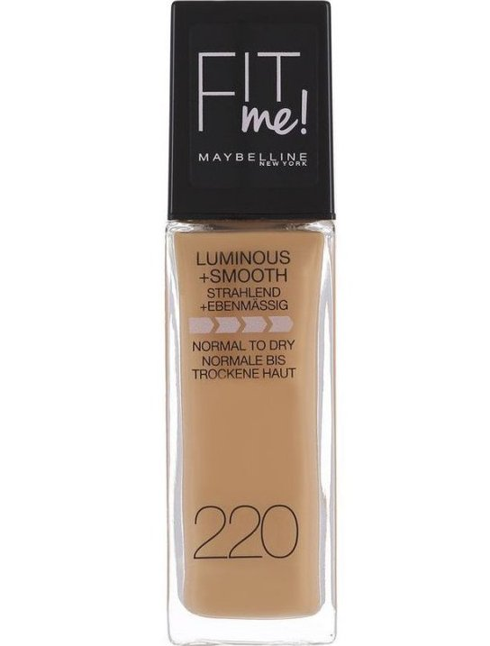 Image of   Maybelline - Fit Me Foundation - Natural Beige 220