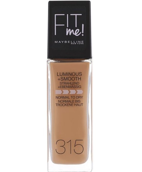Image of   Maybelline - Fit Me Foundation - Soft Honey 315