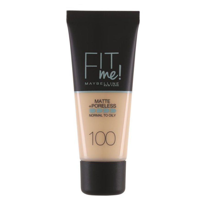Image of   Maybelline Fit Me Matte + Poreless Foundation - 100 Warm Ivory