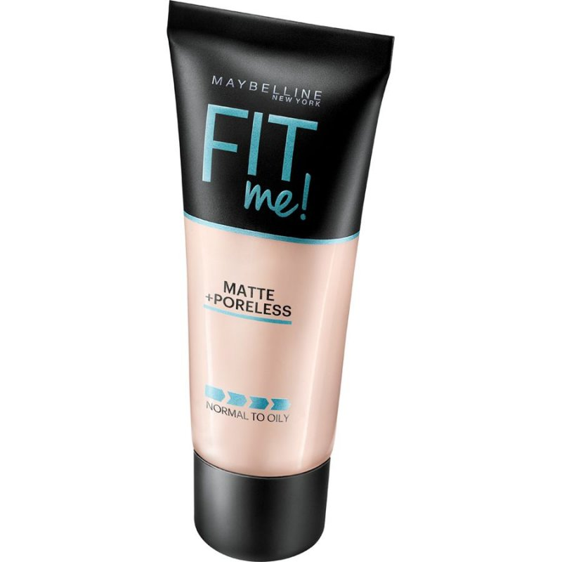 Image of   Maybelline Fit Me Matte Poreless Foundation 104 Soft Ivory - 30 Ml.