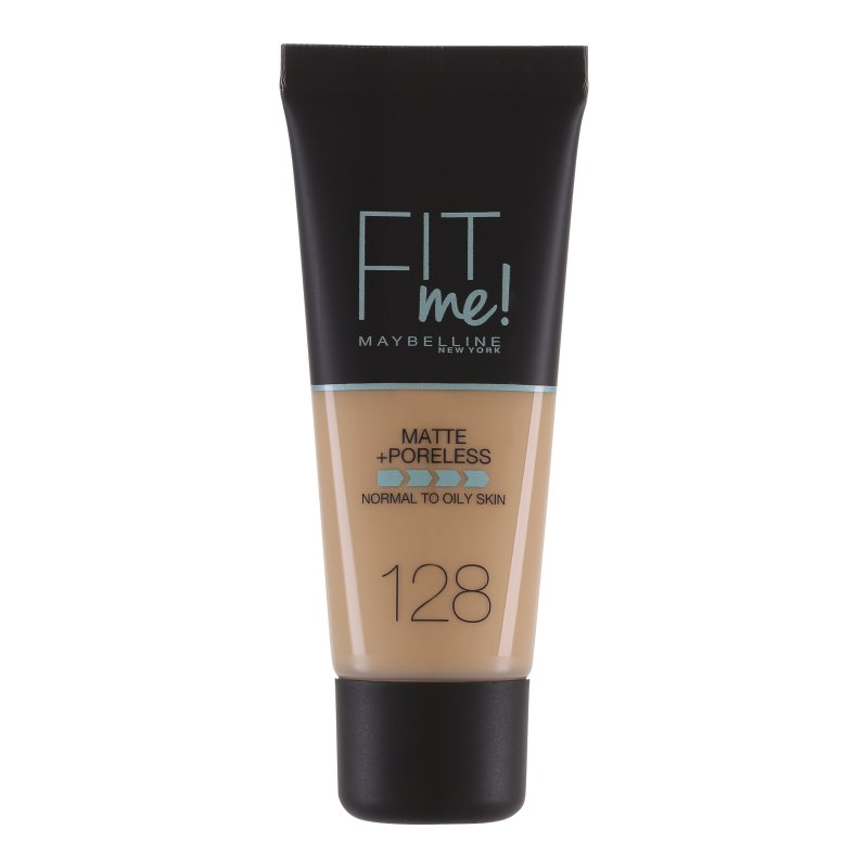 Image of   Maybelline Fit Me Matte + Poreless Foundation - 128 Warm Nude