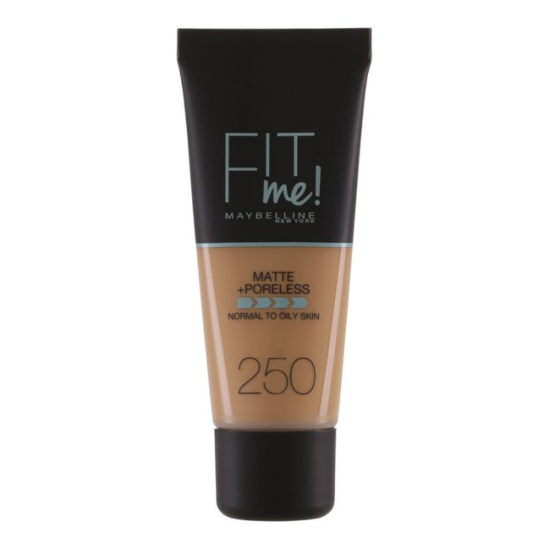 Image of   Maybelline Fit Me Matte + Poreless Foundation - 250 Sun Beige