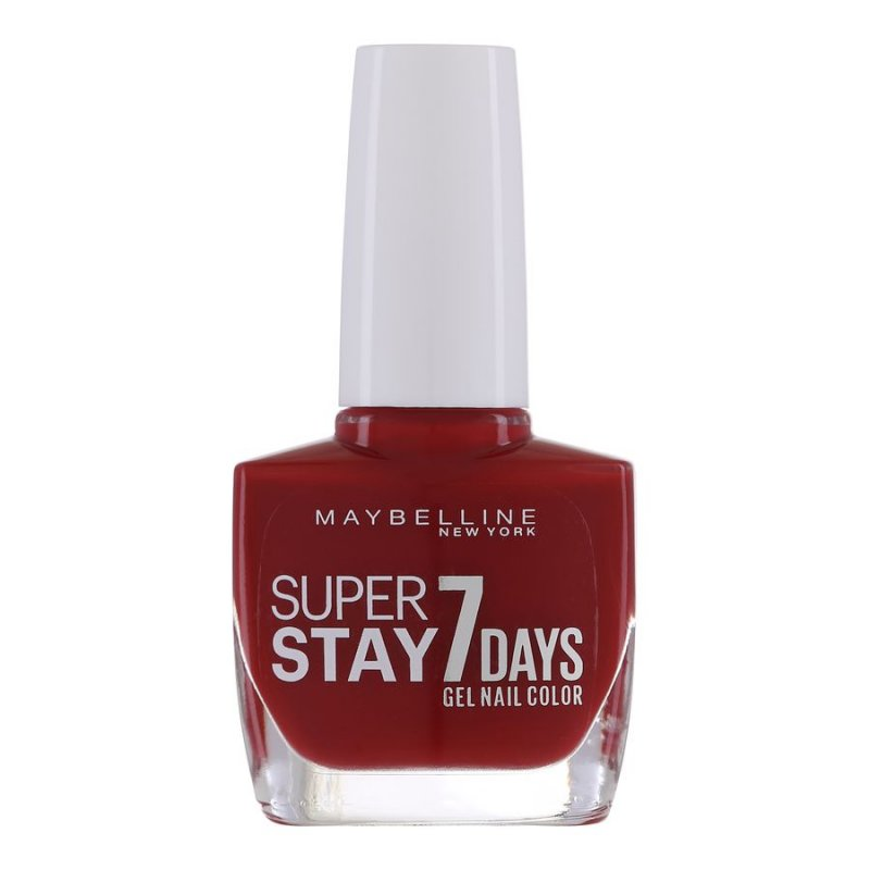 Image of   Maybelline Forever Strong Nail Polish - Deep Red