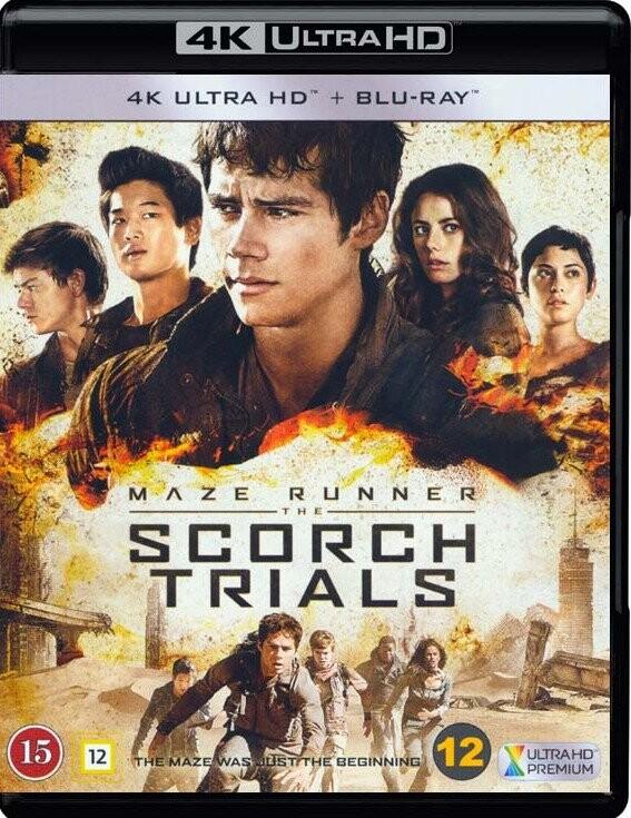 Image of   Maze Runner 2: The Scorch Trials / Maze Runner 2: Infernoet - 4K Blu-Ray