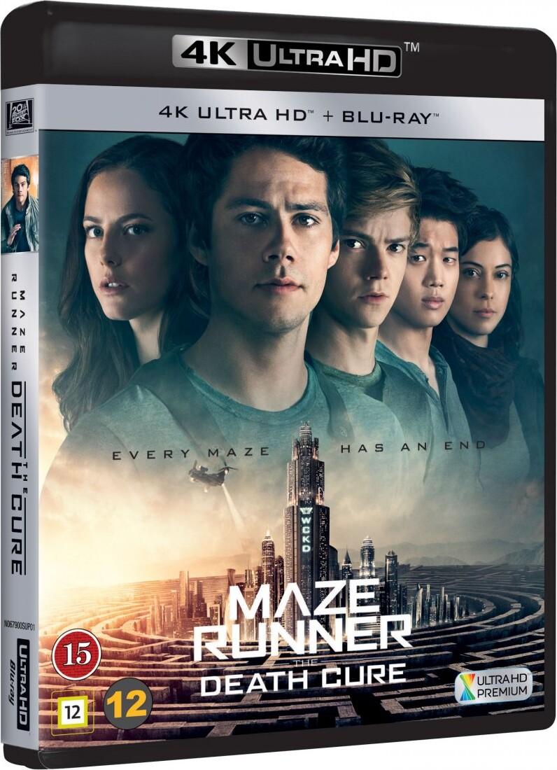 Image of   Maze Runner 3 - The Death Cure / Maze Runner 3 - Dødskuren - 4K Blu-Ray