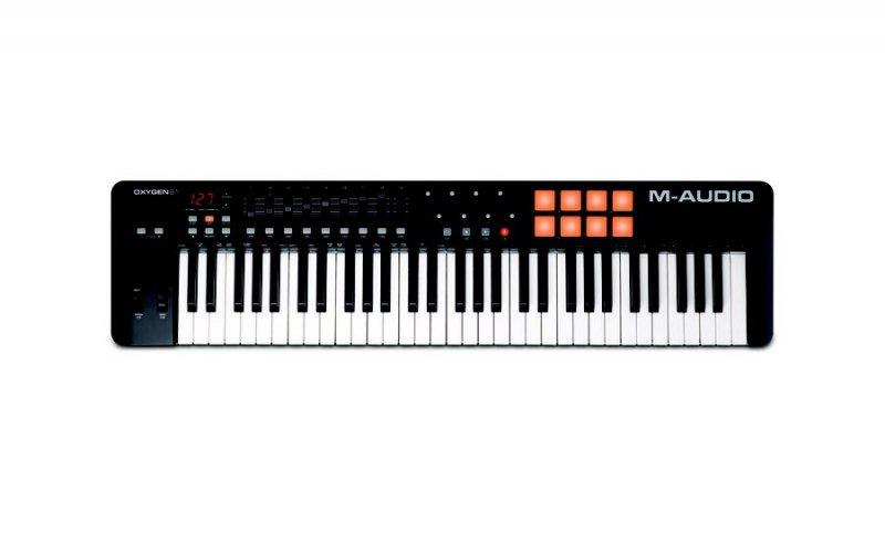 M-audio Oxygen 61 Mk4 Usb Controller Keyboard