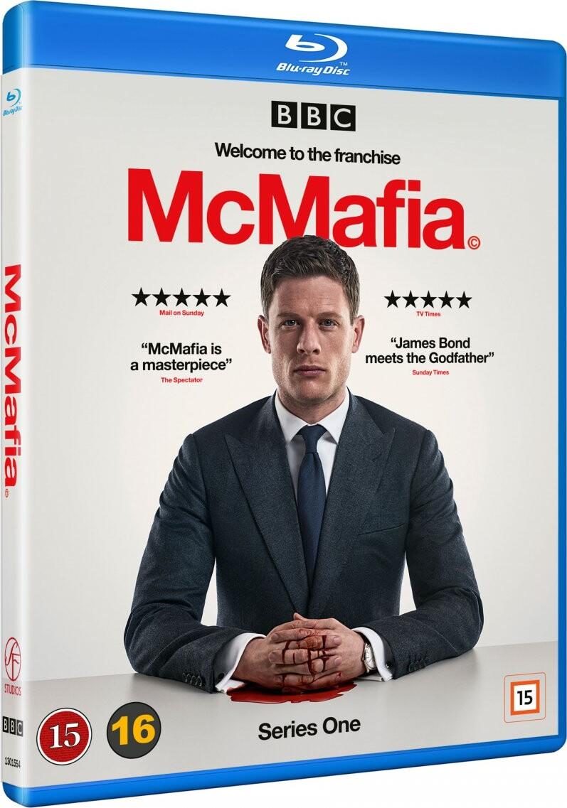 Mcmafia - Sæson 1 - Bbc - Blu-Ray - Tv-serie