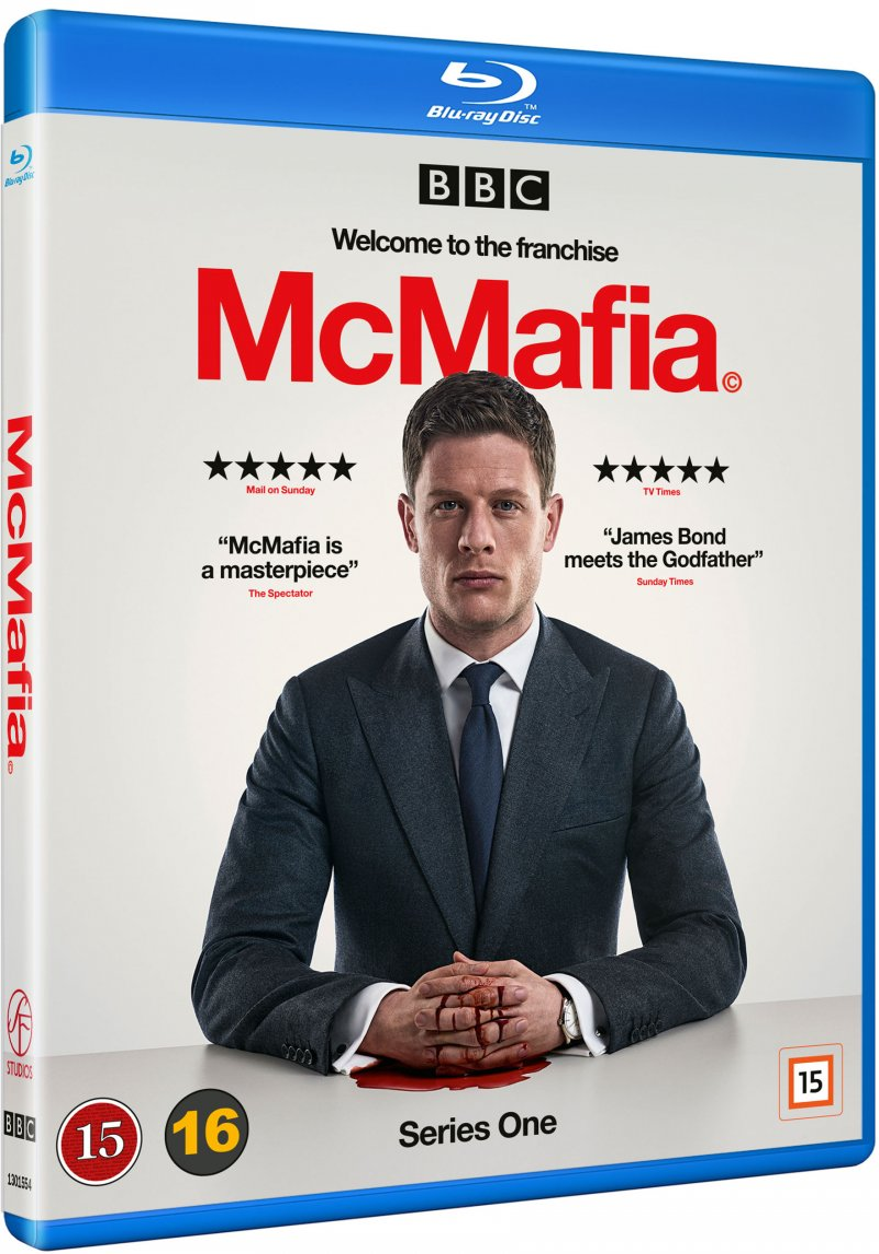 Image of   Mcmafia - Sæson 1 - Blu-Ray - Tv-serie