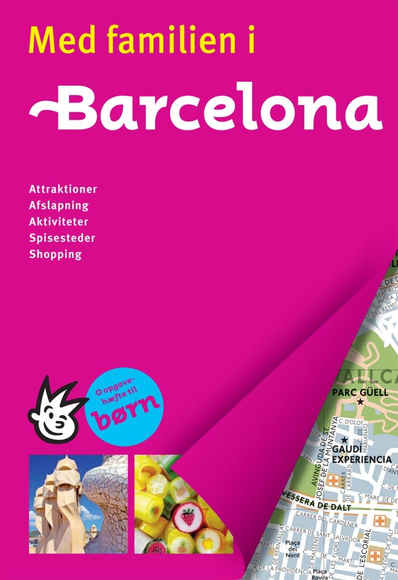 Med Familien I Barcelona - Diverse - Bog