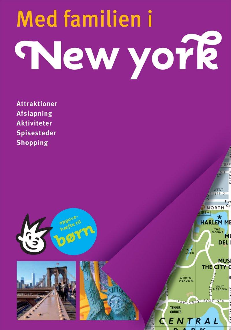 Med Familien I New York - Diverse - Bog