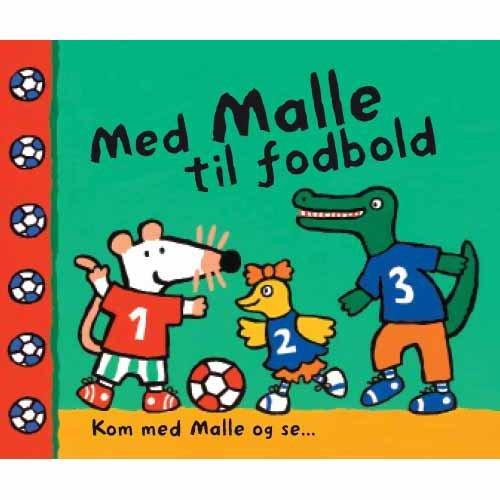 Image of   Med Malle Til Fodbold - Lucy Cousins - Bog
