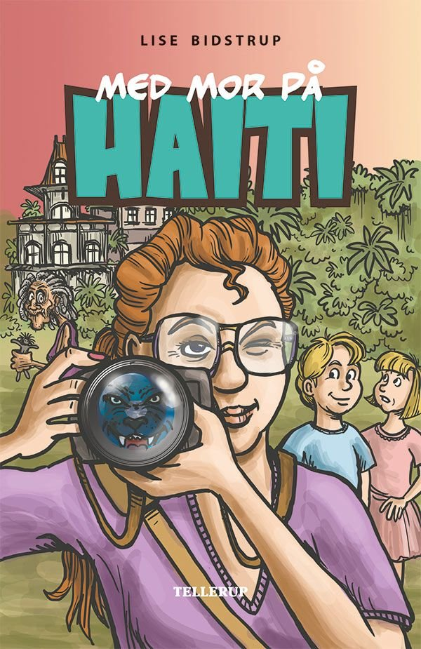 Image of   Med Mor På Haiti - Lise Bidstrup - Bog