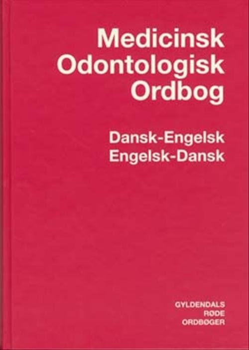 Image of   Medicinsk-odontologisk Ordbog Dansk-engelsk/engelsk-dansk - Morten Pilegaard - Bog