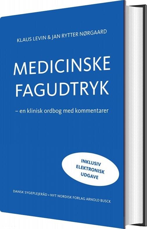 Image of   Medicinske Fagudtryk Ink. Digital Udgave - Jan Rytter Nørgaard - Bog
