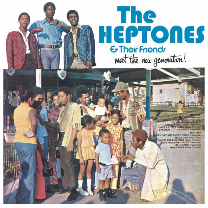 The Heptones & Their Friends - Meet The Now Generation! - Vinyl / LP