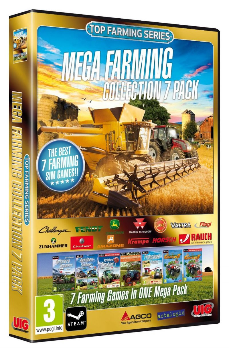 Image of   Mega Farming Collection - 7 Pack - PC