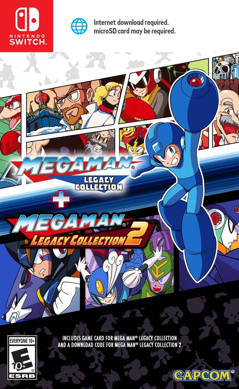 Image of   Mega Man Legacy Collection 1 + 2 - Nintendo Switch