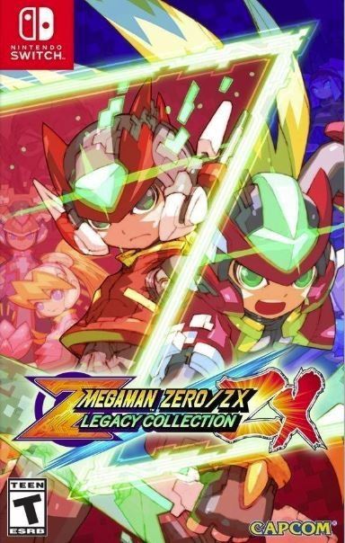 Image of   Mega Man Zero/zx Legacy Collection (us Import) - Nintendo Switch
