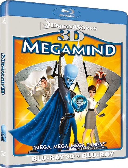 Megamind - 3d - 3D Blu-Ray
