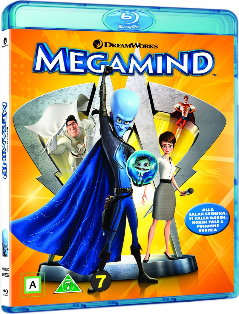 Image of   Megamind - Blu-Ray