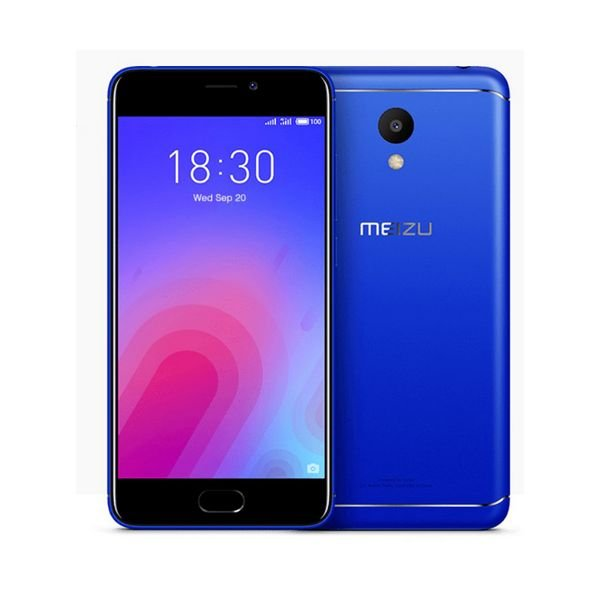 "Image of   Meizu M6 Mobiltelefon - 5,2"" Display - 13mp Kamera - 32gb Plads - Blå"