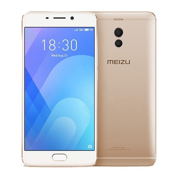 "Image of   Meizu M6 Note Mobiltelefon - 5,5"" Display - 16mp Kamera - 32gb Plads - Guld"