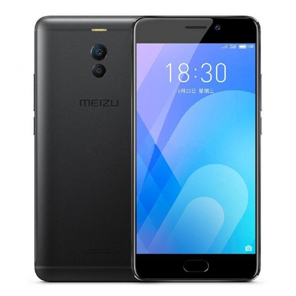 "Image of   Meizu M6 Note Mobiltelefon - 5,5"" Display - 16mp Kamera - 32gb Plads - Sort"