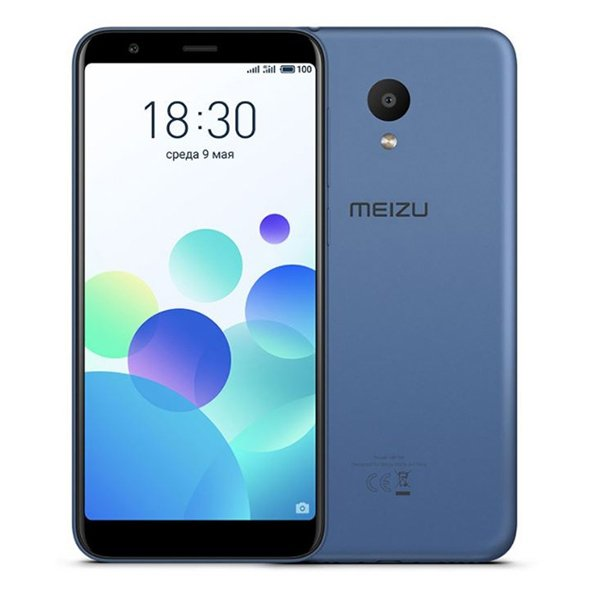 "Image of   Meizu M8c Mobiltelefon - 5,4"" Display - 13mp Kamera - 16gb Plads - Blå"