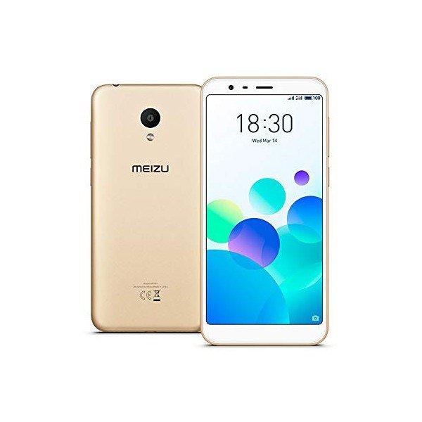 "Image of   Meizu M8c Mobiltelefon - 5,4"" Display - 13mp Kamera - 16gb Plads - Guld"