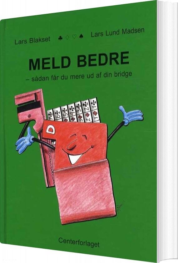 Image of   Meld Bedre - Blakset - Bog