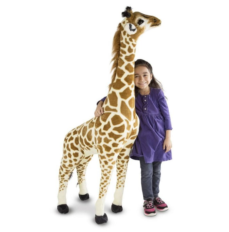 Melissa And Doug - Stor Giraf Bamse - 137 Cm