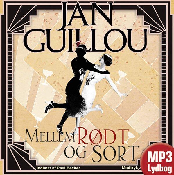 Mellem Rødt Og Sort - Jan Guillou - Cd Lydbog