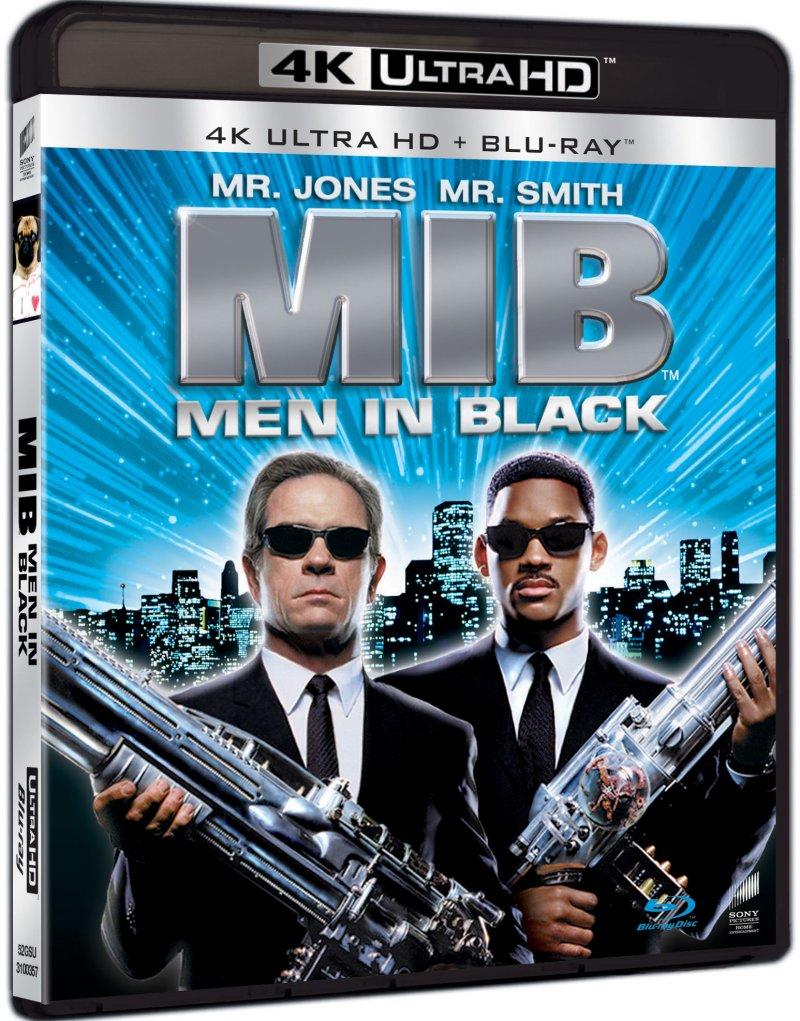 Image of   Men In Black 1 - 4K Blu-Ray