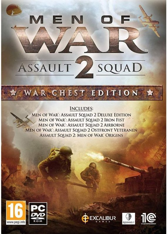 Image of   Men Of War Assault Squad 2: War Chest Edition - PC