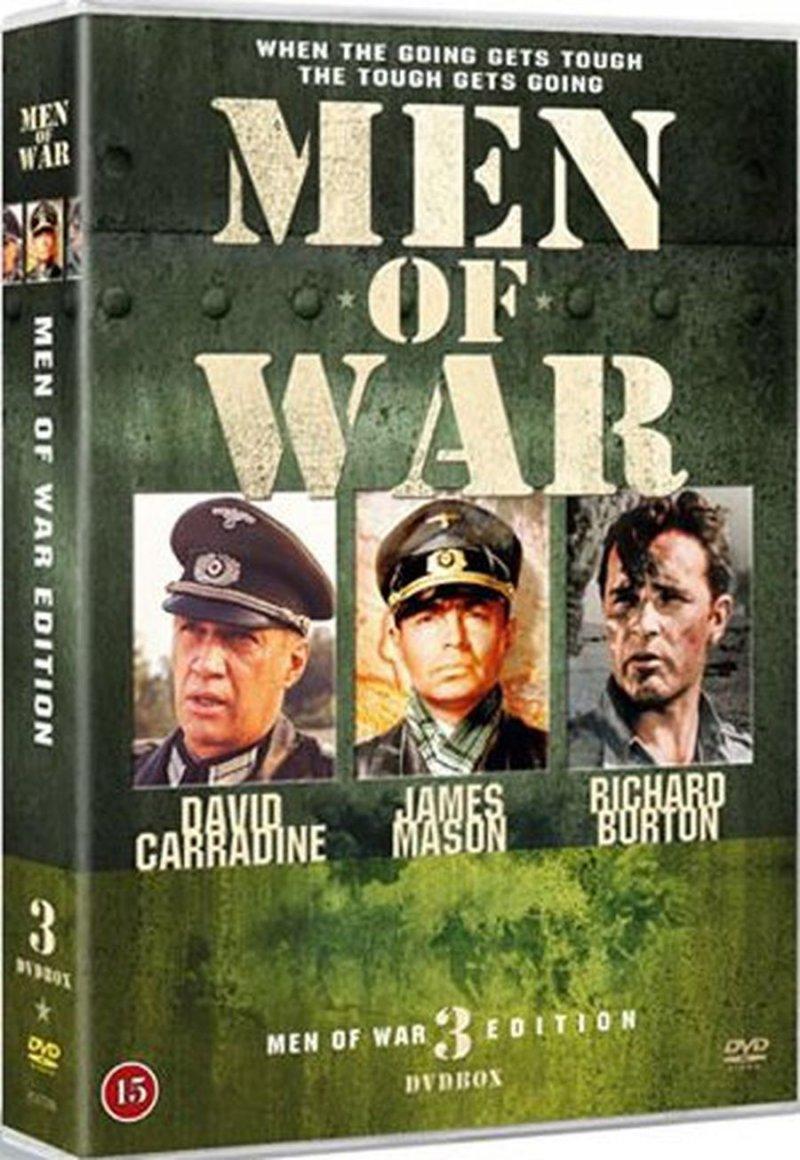 Image of   Men Of War War Heroes - Boks 2 - DVD - Film