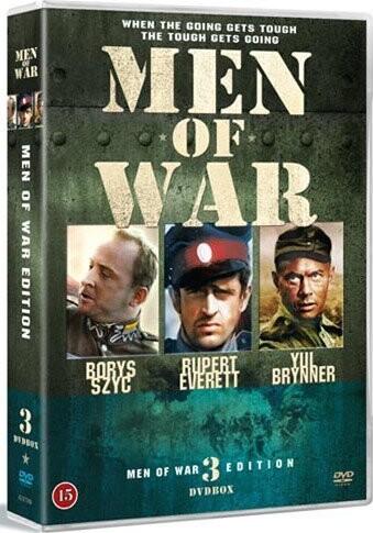 Image of   Men Of War War Heroes - Boks 3 - DVD - Film